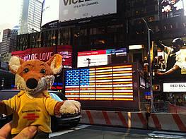 Fuchsi, Times Square, 2016, Stefan Kürten