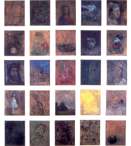 The Golden Paintings, 1989, Stefan Kürten