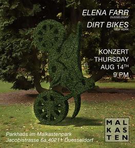 Dirt Bikes, Elena Farr, Malkasten Concert, 2014, Stefan Kürten